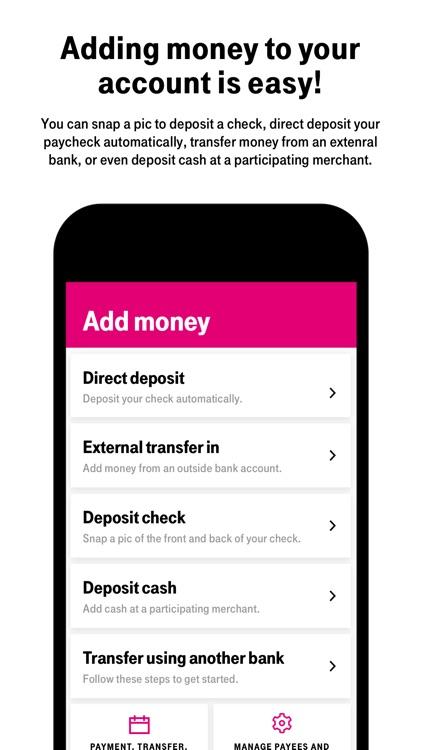 T-Mobile MONEY screenshot-3