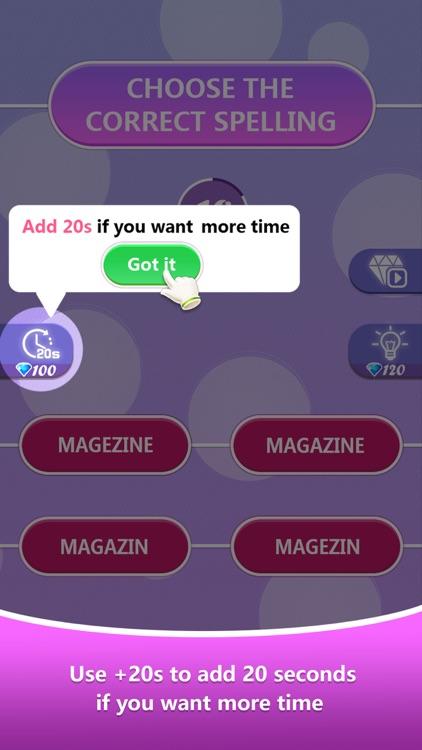 Word Spelling Challenge screenshot-6