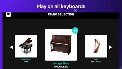 Piano - simply game keyboard Screenshot
