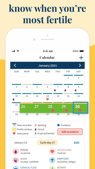 messages.download Ovia Fertility & Cycle Tracker software