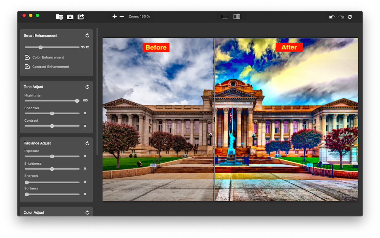 Image Enhance Pro Mac 破解版 HDR图像处理工具-麦氪搜(iMacso.com)