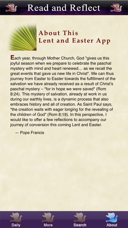 Lent-Easter with Pope Francis screenshot-4
