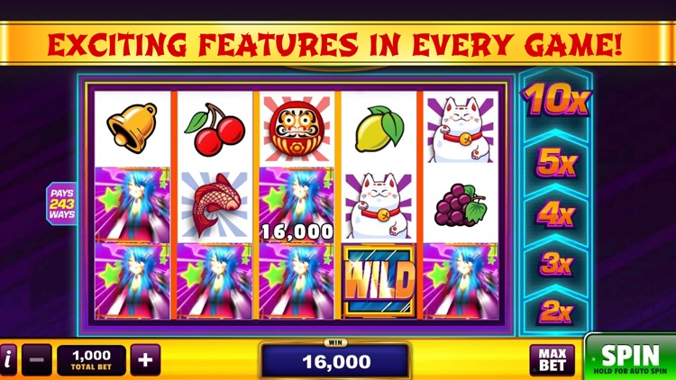 Good Fortune Slots Casino Game screenshot-5
