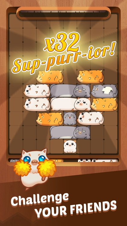 Coco Slide Cats Puzzle ® screenshot-3