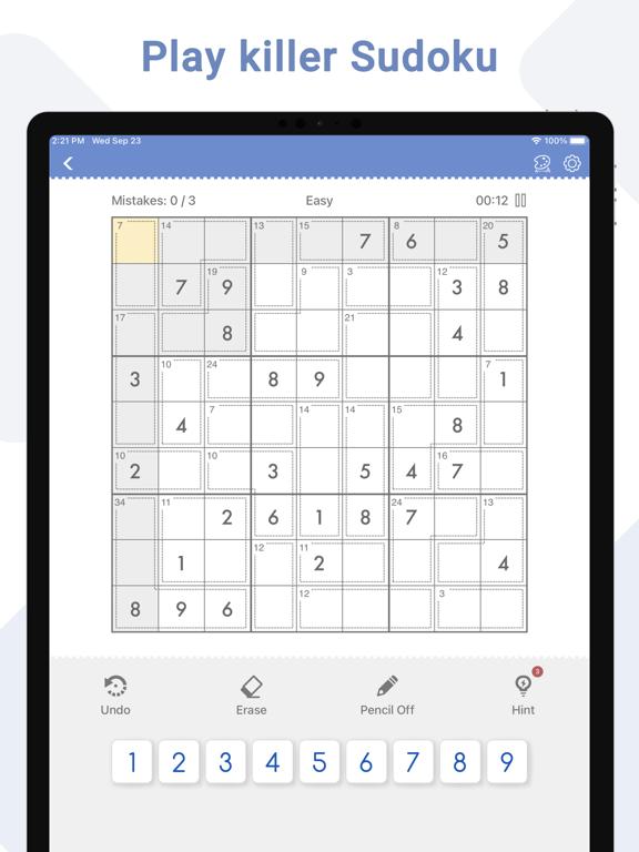 Killer Sudoku - Brain Gamesのおすすめ画像1