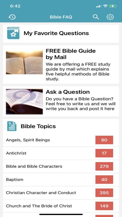 Bible Questions & Answers -FAQ