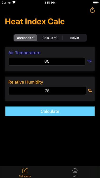 Heat Index Calculator - Calc