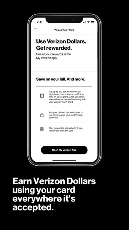 Verizon Visa® Card screenshot-3