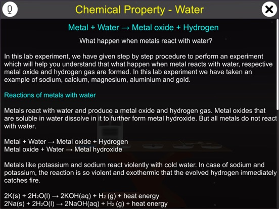 Chemical Property - Water screenshot 8