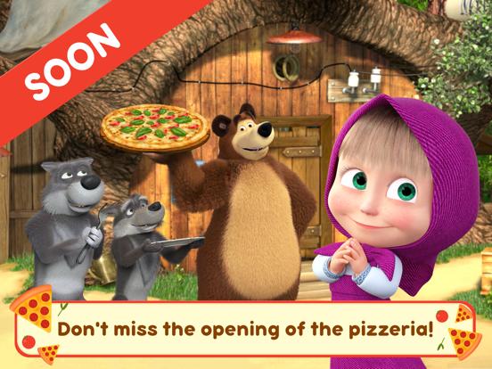 Masha and the Bear Pizzeria! screenshot 7