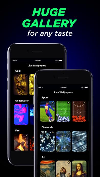 Live Wallpapers & Ringtones Screenshot