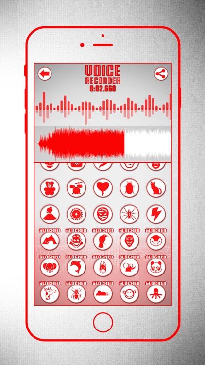 Voice Recorder & Modifier screenshot-5