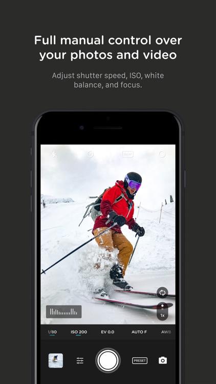 Pro Camera by Moment screenshot-4
