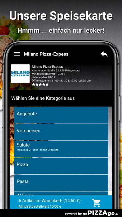 Milano Pizza-Expess Ingolstadt screenshot 4
