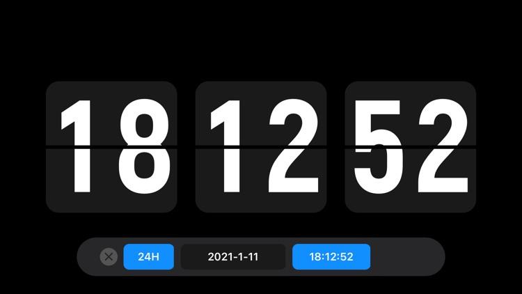 Nightstand clock & Flip clock screenshot-8