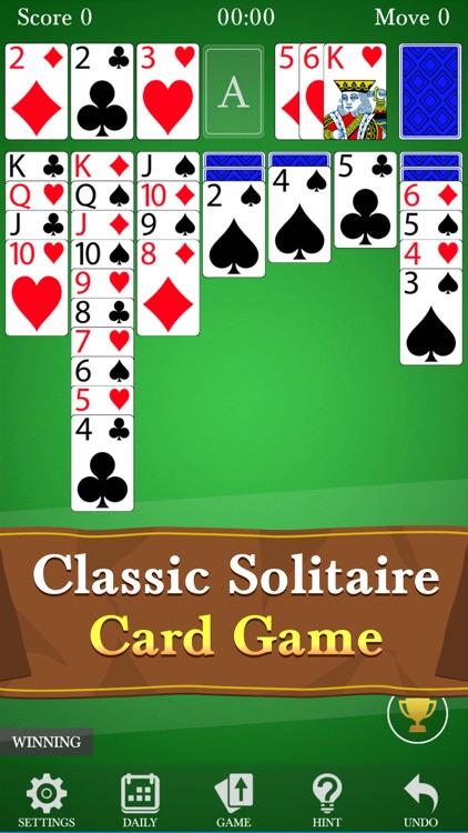 Solitaire Klondike Deluxe screenshot-0