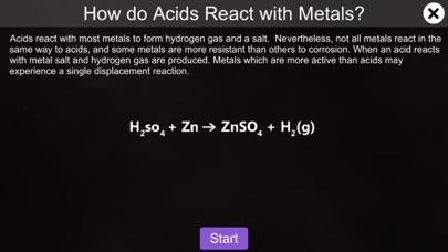 Acids react with metals screenshot 1