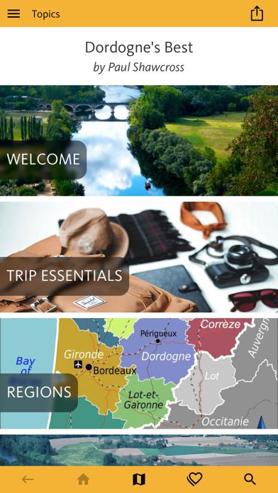 Dordogne's Best: Travel Guide screenshot 1