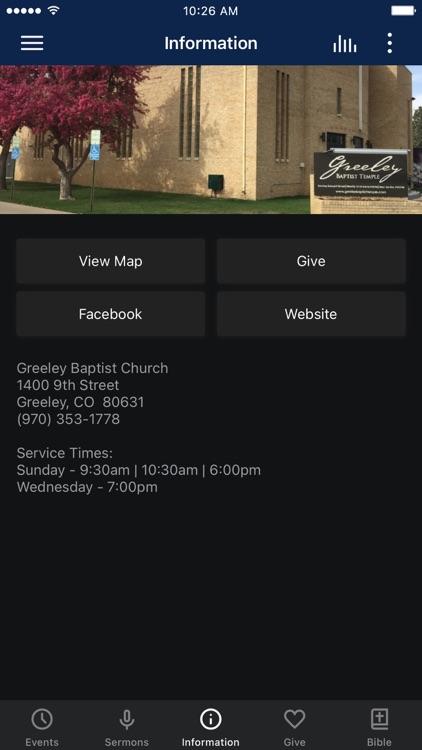 Greeley Baptist Church
