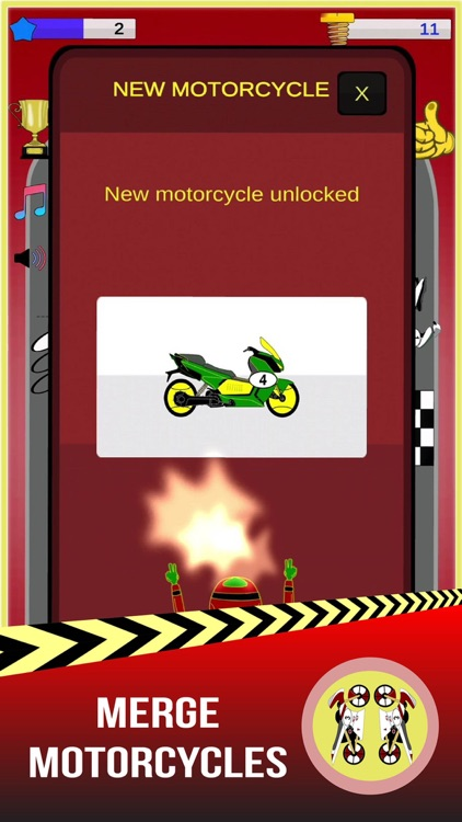 Merge Motos: Bike idle-games screenshot-0
