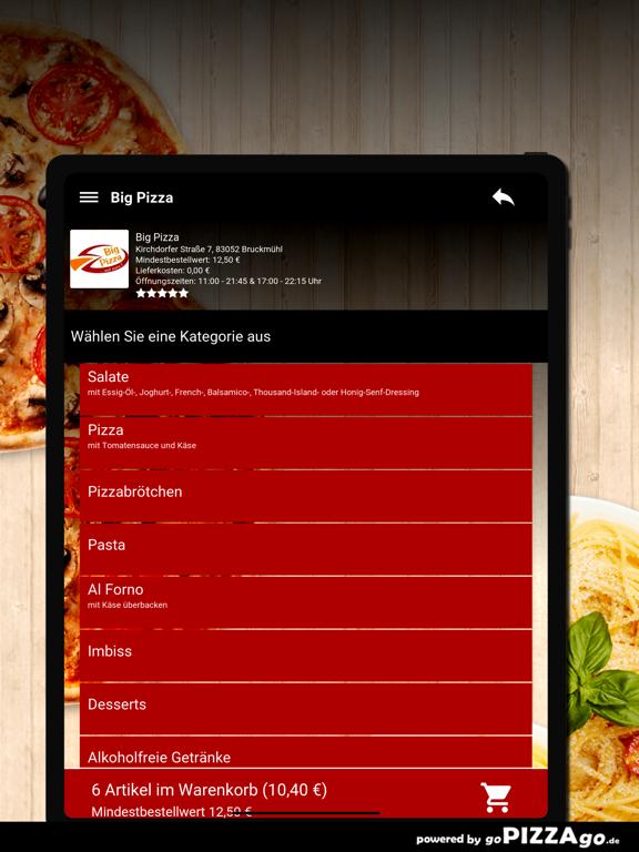Big Pizza Bruckmühl screenshot 8