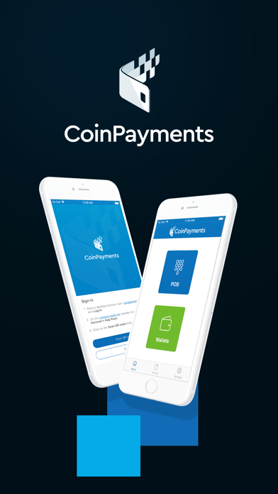 Screenshot of CoinPayments - Crypto Wallet1