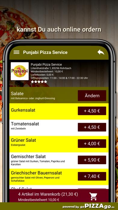 Punjabi Pizza Service Rohrbach screenshot 5
