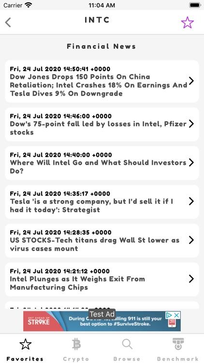 Ticker: Stocks & Crypto screenshot-6
