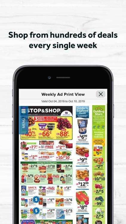 Stop & Shop screenshot-4