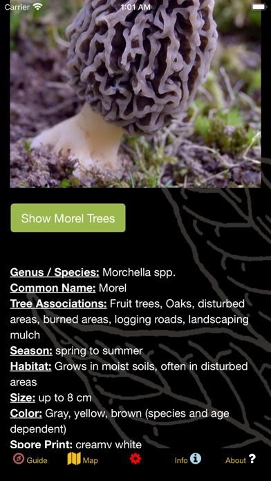 BC Coast Mushroom Forager Screenshot