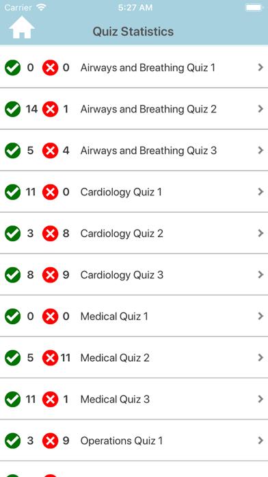 EMT Prep Practice Test Screenshot