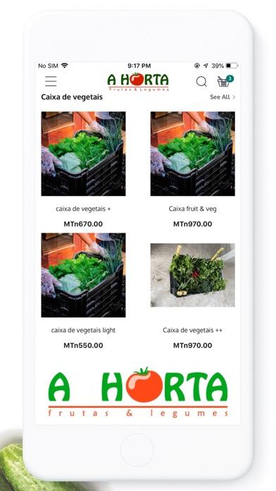 A Horta frutas & legumes Screenshot