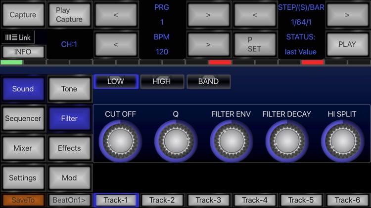 6X806 Drum Machine Synth screenshot-4