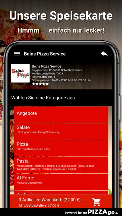 Bains Pizza Schwabmünchen screenshot 4
