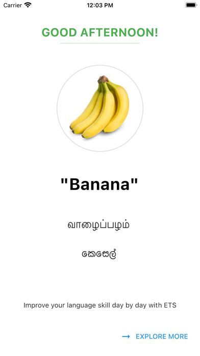 English Tamil Sinhala Screenshot