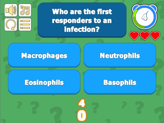 Immune & Lymphatic Quiz screenshot 7