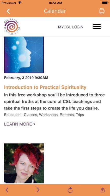 Center for Spiritual Living SE