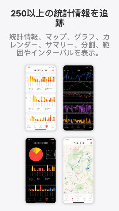 Runmeter GPSランニング、ジョギング、サイクリング ScreenShot1