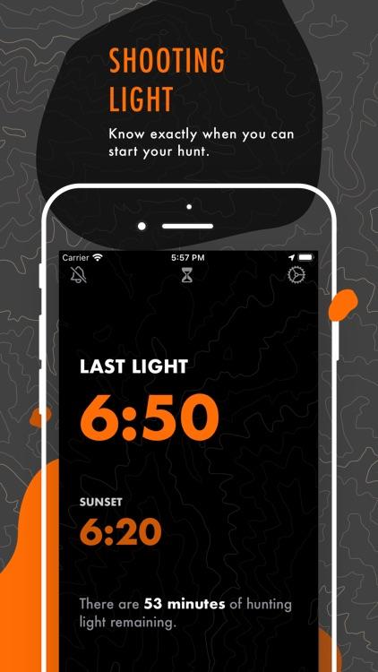 Shooting Light: Hunt Clock