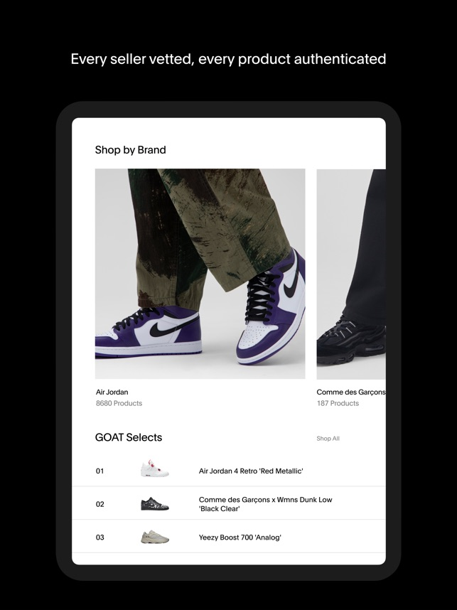 GOAT – Shop Sneakers on the App Store