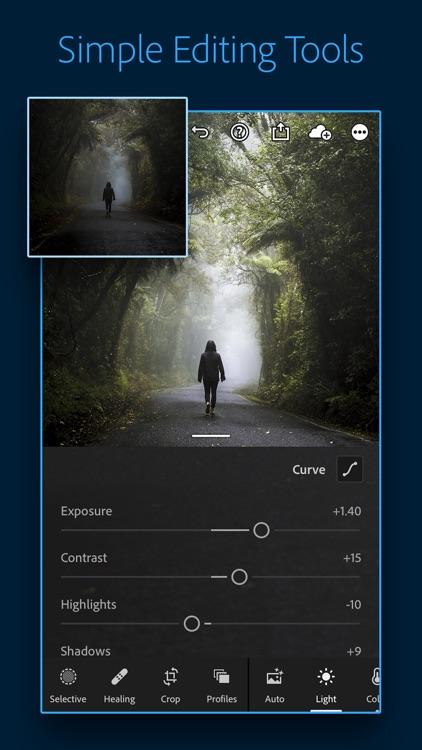 Adobe Lightroom Photo Editor screenshot-0