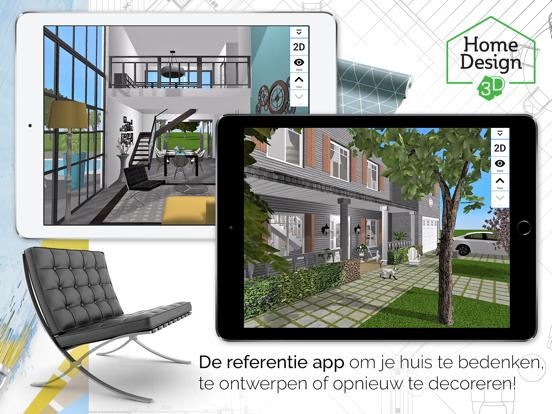 Home Design 3D GOLD iPad app afbeelding 1