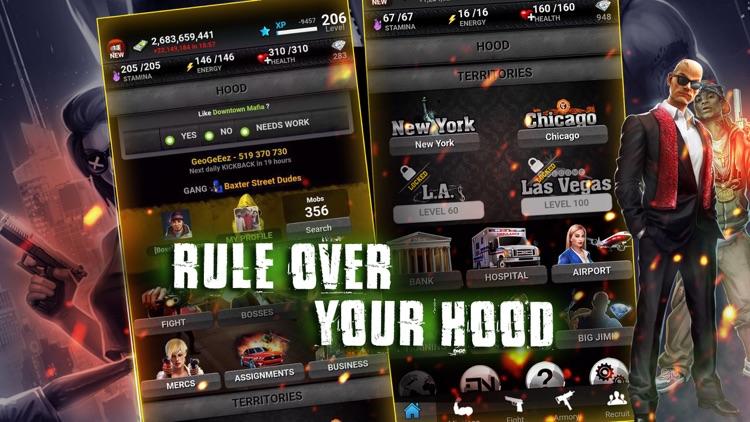 Downtown Mafia: Gang Wars RPG screenshot-4