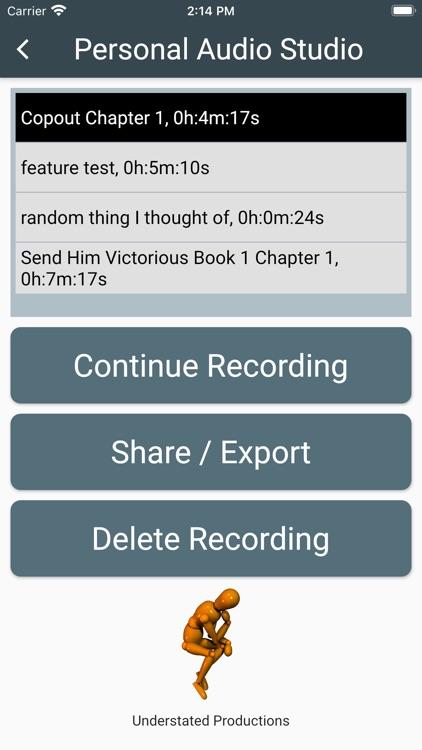 Personal Audio Studio screenshot-4