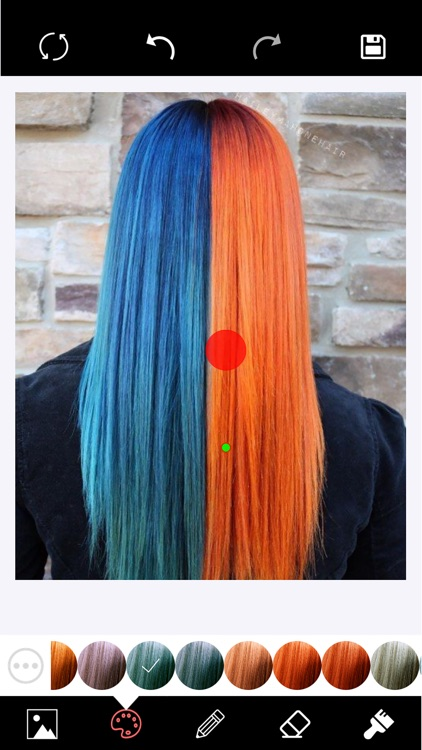 Hair Color Changer Editor screenshot-3