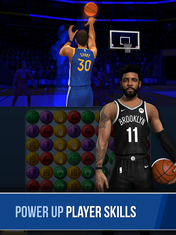 iPad Image of NBA Ball Stars