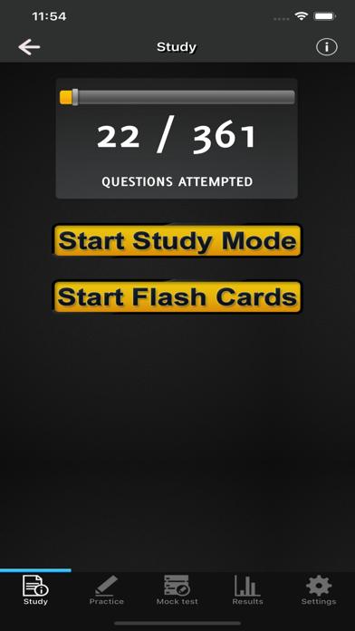 ECS Card Practice Exams (JIB) screenshot 2