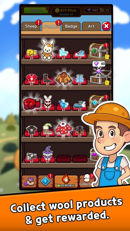 Sheep Farm: Idle games, Tycoon screenshot-3