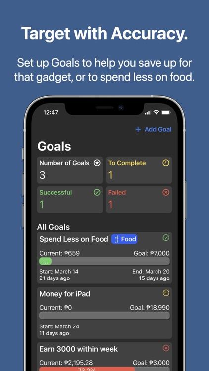 Magnate - Budget Tracker screenshot-3