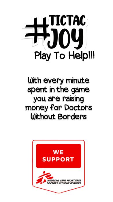 Tic Tac Joy – 助けるためにプレイしてください!紹介画像2